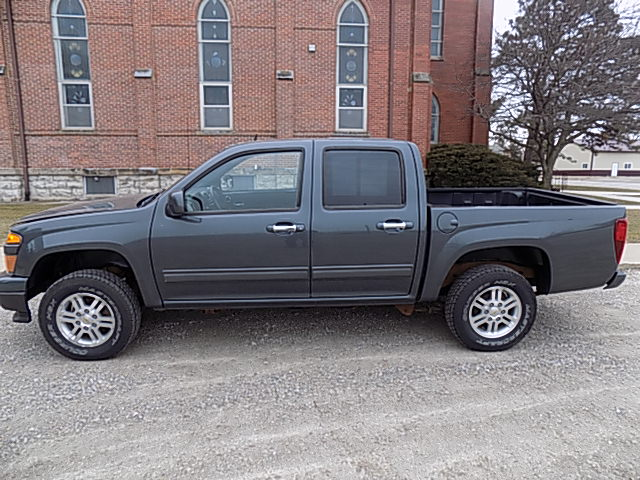 2012 Chevrolet Colorado Crew LT